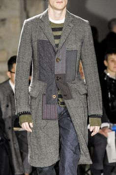 View all the detailed photos of the Junya Watanabe Man men's autumn (fall) / winter 2013 showing at Paris fashion week.  Read the article to see the full gallery.