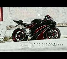 Custom Yamaha R6