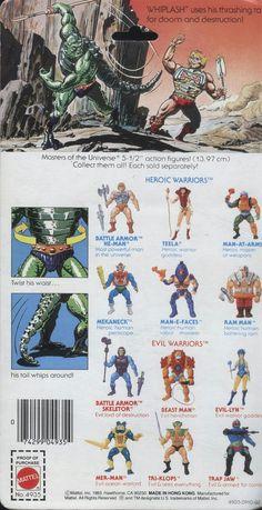 The Original Series > Whiplash Retro Toys, Vintage Toys, 1980 Cartoons, 1980s Kids, Childhood Toys, Childhood Memories, She Ra Princess Of Power, Universe Art, Classic Cartoons