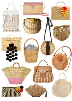 d1e2b21700 31 Best Straw bags images in 2019