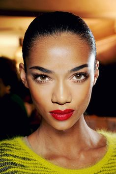 theultimateface: #perfection. Base: Anais Mali. Eyes: Tayane Leão Melo  Nose: Jia Jing. Mouth: Anais Mali