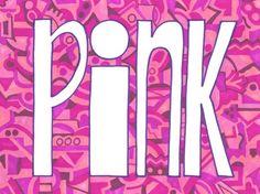 PINK art print #pink #color #colours