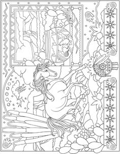 Welcome to Dover Publications Escapes Collage Art bu Marty Noble