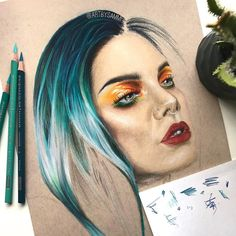 WANT A FEATURE ?   CLICK LINK IN MY PROFILE !!!    Tag  #LADYTEREZIE   Repost from @artbysammi   Livestream saw it first #wip via http://instagram.com/ladyterezie