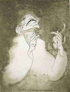 Caricature of Leonard Bernstein, 1972 - Al Hirschfeld