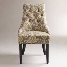 These Ikat Lydia Dining Chairs are gorgeous!