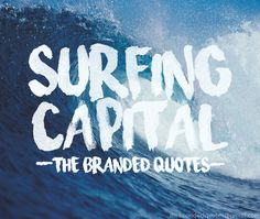 Surfing Capital Font | dafont.com | I'm in love with this watercolor brush effect font!