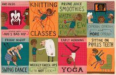 Allison Kerek: The Retired Kid Illustration