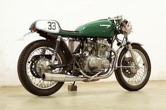 '78 Kawasaki KN400 – Jochen Guske  |  Pipeburn.com