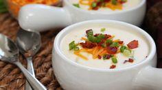 Loaded Baked Potato Soup | #Homemade