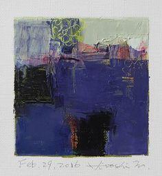 https://flic.kr/p/EteRfU | feb292016 | Oil on canvas  9 cm x 9 cm  © 2016 Hiroshi Matsumoto www.hiroshimatsumoto.com