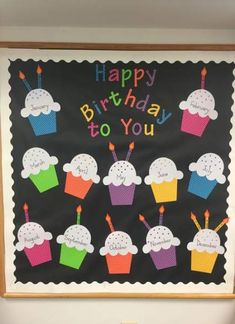 31 Ideas Birthday Board Ideas For Work Preschool Bulletin Preschool Birthday Board, Birthday Chart Classroom, Birthday Bulletin Boards, Birthday Wall, Birthday Charts, Preschool Bulletin Boards, Classroom Bulletin Boards, Classroom Themes, Classroom Birthday Displays