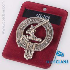 Gunn Clan Crest Pewt