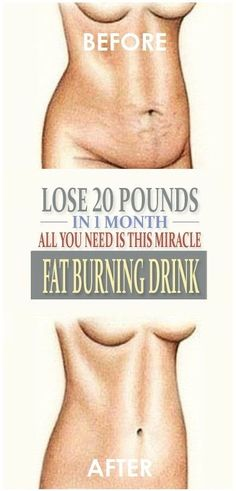 Lose 20 Pounds In 1 Month – All You Need Is This Miracle, Fat-Burning Drink – 18 Aims