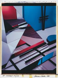 Barbara Kasten | Construct PC/4B [1981]