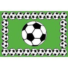 LF-94 SOCCER Soccer Fun Rug