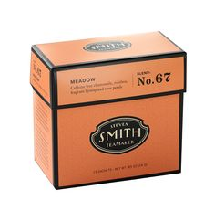 Steven Smith Teamaker - No. 67 Meadow - Egyptian chamomile, South African rooibos, fragrant hyssop, linden flowers, lemon myrtle, rose petals, safflower, cyani flowers