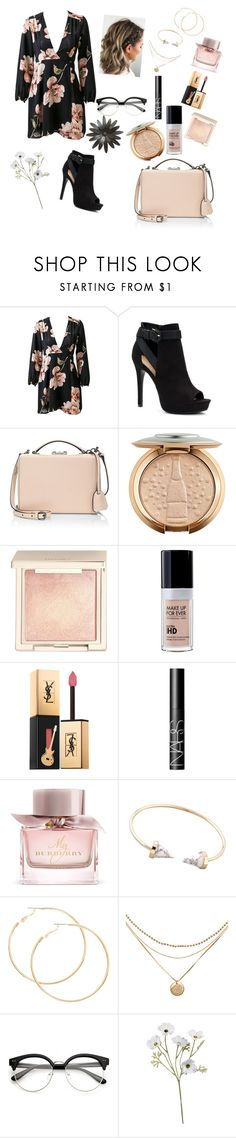 """""""flower power!🌸🌺💐🌼🌹🌻"""" by sugarbear121004 ❤ liked on Polyvore featuring Apt. 9, Mark Cross, Jouer, Yves Saint Laurent, NARS Cosmetics and Burberry"""