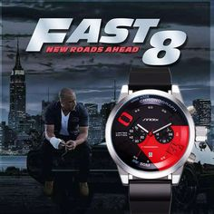 Fair price SINOBI Fast And Furious 8 Chronograph Sport Watches Famous Brand Men's Watch Men Watch Clock saat relogio masculino reloj hombre just only $18.99 with free shipping worldwide  #menwatches Plese click on picture to see our special price for you