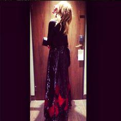 Style goals. Annabelle Wallis wearing Georgia Hardinge.