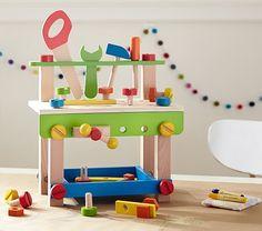 Mini Construction Bench | Pottery Barn Kids