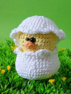 Amigurumi pattern  Pino the chick by Lapetite2101 on Etsy, $4.00