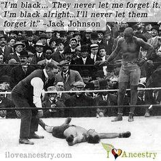 #JackJohnson #BlackBoxer #Boxing