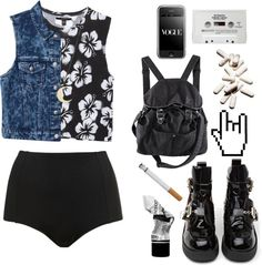 """""""black sunset"""" by only-desire ❤ liked on Polyvore"""