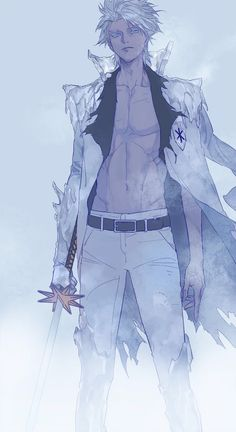 Toshiro lost in a world not his own a dark past forces him to push on