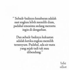 New Quotes Indonesia Patah Hati Ideas Islamic Quotes, Islamic Inspirational Quotes, Muslim Quotes, Quran Quotes, New Quotes, Mood Quotes, Wisdom Quotes, Happy Quotes, Funny Quotes