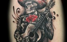Day of the Dead Tattoos a 4 - InkDoneRight