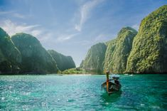 Planning for going somewhere to enjoy the holiday tour? If so, Phuket and Krabi, which are counted among the most visited tourist places of… Places Around The World, Oh The Places You'll Go, Places To Travel, Places To Visit, Around The Worlds, Tourist Places, Ko Samui, Romantic Vacations, Dream Vacations
