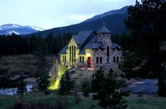 Catholic church in Colorado mountains. I think so!