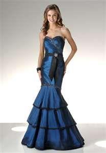 beautiful blue mermaid prom dress        www.proinvestasi.com