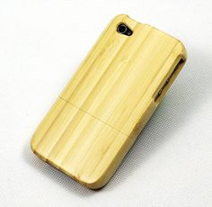 Bamboo iPhone case. First saw @ the shore.