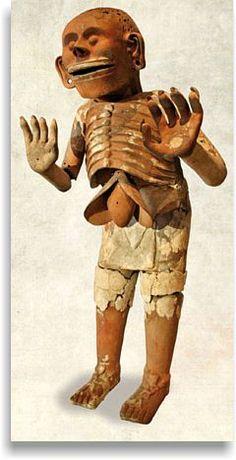 Mictlantecuhtli - Aztec god of death.