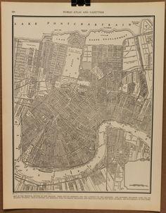 Historic New Orleans Roofing Slate Souvenir Print St Louis