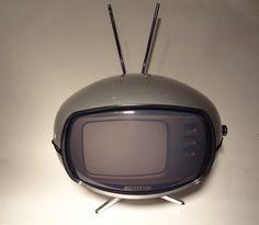 Original Panasonic Orbitel TR-005 Flying Saucer vintage 1970's TV television by NewEraAntiques on Etsy https://www.etsy.com/listing/183937402/original-panasonic-orbitel-tr-005-flying