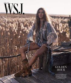 WSJ Magazine April 2018 Gisele Bündchen by Mikael Jansson