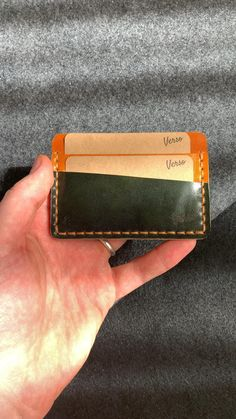 Secondary Color, Primary Colors, 3 In One, Leather Working, Travel Accessories, Card Wallet, Leather Craft, Leather Wallet, Wallets