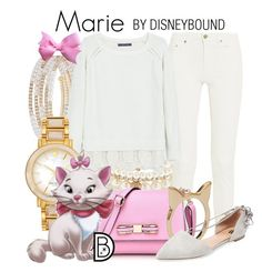 Marie by leslieakay on Polyvore featuring polyvore, fashion, style, Violeta by Mango, Acne Studios, Ava & Aiden, Kate Spade, Anne Klein, Forever 21, Disney, disney and disneybound