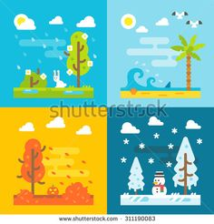Christmas Flat Design Stock Photos, Images, & Pictures   Shutterstock