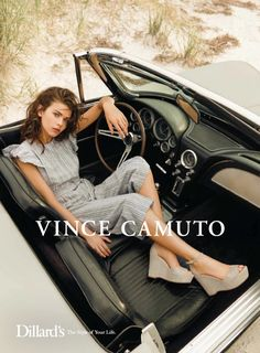 Vince Camuto taps Georgia Fowler for spring-summer 2018 campaign