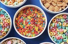 Exo Lucky, Lucky Charms Marshmallows, Rice Crisps, Cinnamon Toast Crunch, Bowl Of Cereal, Big Bowl, Chocolate Flavors, Raisin, Breakfast Ideas