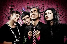 Mindless Self Indulgence.  I really enjoy the remixes of their songs.  The Combichrist Electro Hurtz remix of Never Wanted To Dance is great, everyone should check that one out.  #music #punk #electronic
