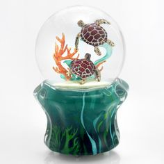 Sea Turtles Musical Rotating Snow Globe - By Twinkle Enterprises