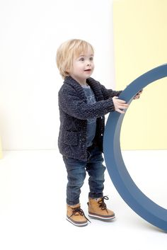 Mister Monkey and Misses Butterfly - baby- en kinderkleding - Lookbook - Inspiratie voor die schattige of stoere look | Mr Monkey & Mrs Butterfly - AW16 - Pull - Boys - Grey - Tumble 'n Dry