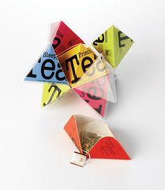 Tea, pyramide, packaging, good, ludique, Today was fun Tea Line #2