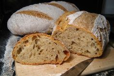 Jednoduchý recept na domácí chlebíček. Krásně nadýchaný, měkoučký a zároveň křupavý. Bread Recipes, Snack Recipes, Cooking Recipes, Snacks, Czech Recipes, Russian Recipes, Pan Bread, Bread Baking, Cas