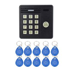 Access Control Kits Sunny Free Shipping 125khz Rfid 2 Doors Access Control Systems For 2-ways Access Control Panel Free Software+2 Reader